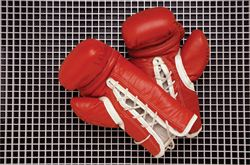 boxing gloves used in boxing competition